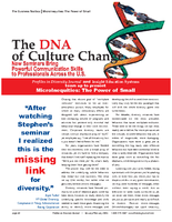 The DNA of Culture ChangeDiversity Journal